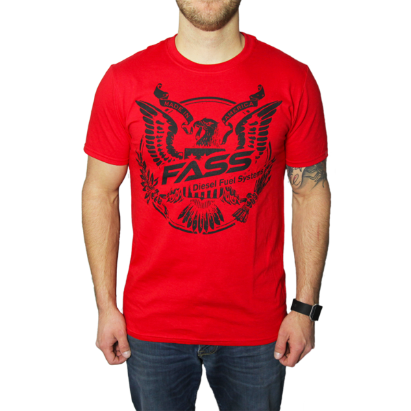 Made In America Front Black Eagle