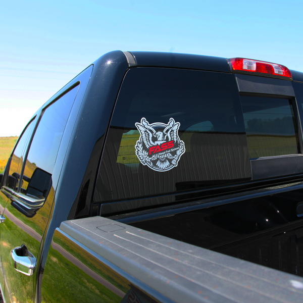 Fass Diesel Fuel Systems Made in America Decal
